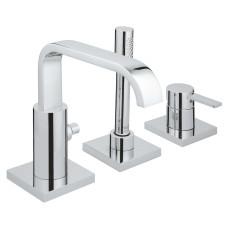 Grohe Allure 3 lyukas kádtöltő-és zuhany csaptelep (19316000)