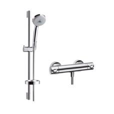 Hansgrohe Ecostat Comfort termosztátos zuhany csaptelep, zuhanyszettel (27085000-HG)