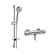 Hansgrohe Ecostat Comfort termosztátos zuhany csaptelep, zuhanyszettel (27086000-HG)