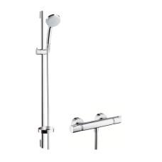 Hansgrohe Croma 100 Vario/Comfort Combi zuhanyszett termosztátos zuhany csapteleppel (27033000-HG)