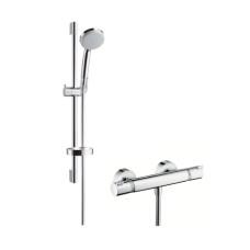 Hansgrohe Ecostat Comfort termosztátos zuhany csaptelep, zuhanyszettel (27034000-HG)