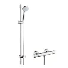 Hansgrohe Ecostat Comfort termosztátos zuhany csaptelep, zuhanyszettel (27035000-HG)