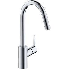 Hansgrohe Talis M52 mosogató csaptelep kihúzható zuhanyfejjel (14872000-HG)