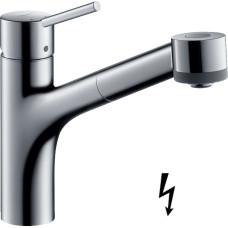 Hansgrohe Talis M52 mosogató csaptelep kihúzható zuhanyfejjel (32842000-HG)