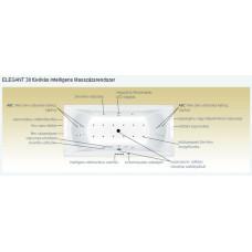 M-Acryl Elegant elektronikus vezérlésű masszázsrendszer (elegantmr)