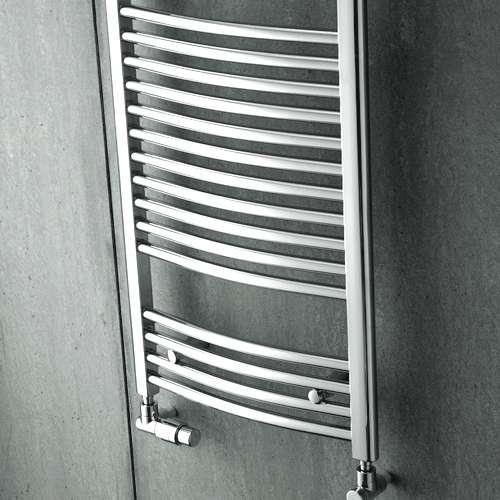 Zehnder Aura krómozott íves csőradiátor (PBTCZ-150-060)